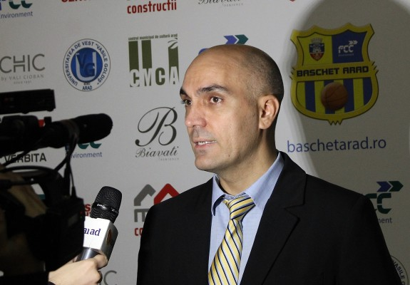 "Președintele FCC Baschet Arad, Marcel Urban: ""Ca la loz în plic"""