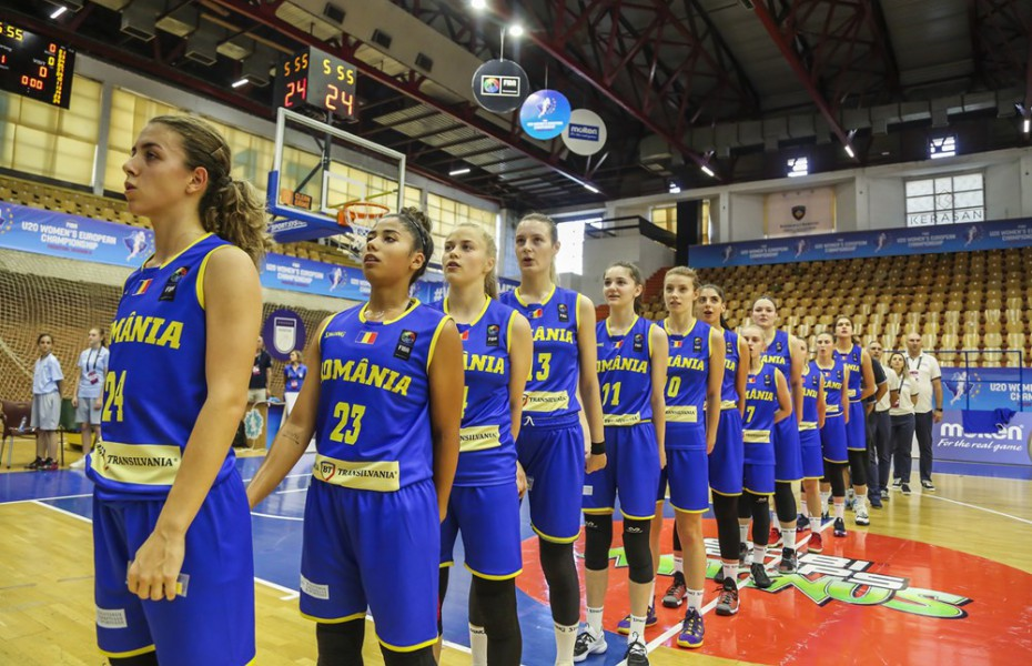 România încheie pe locul 8 europeanul U20 feminin, divizia B