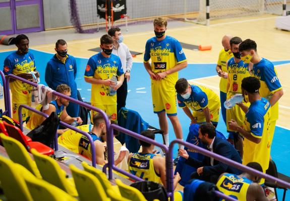 BC CSU Sibiu câștigă clar în fața lui SCM Timișoara și se califică în Final Eight-ul Cupei României
