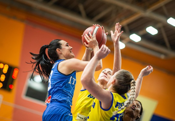 România a pierdut confruntarea cu Italia din preliminariile EuroBasket 2021