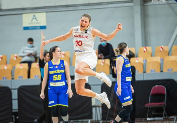 Danemarca a obținut prima victorie din calificările EuroBasket după 21 de ani în meciul cu România