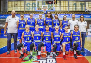 România U20 feminin pierde în prelungiri cu Croația și va juca pentru locul 7 la european, divizia B