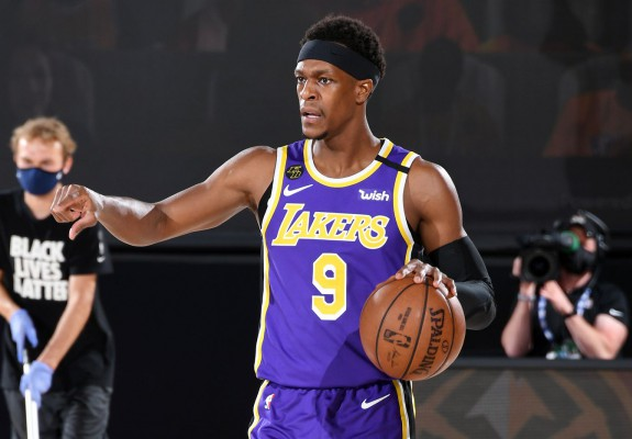 Rajon Rondo se desparte de Los Angeles Lakers