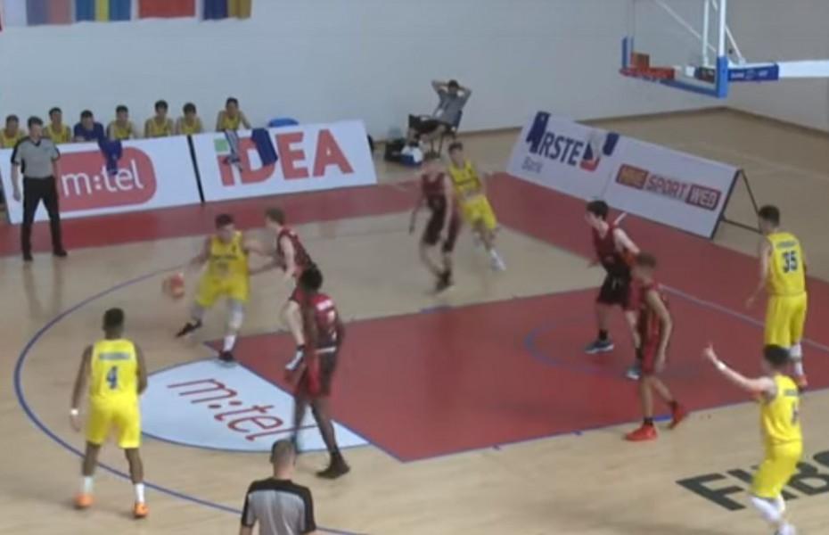 România U16, înfrângere cu Belgia după un meci echilibrat