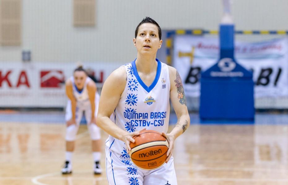 Triple-double pentru Biljana Pesovic în confruntarea cu Phoenix Constanța