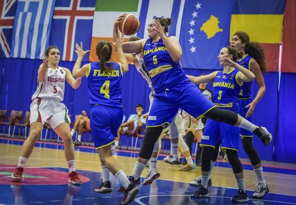 România pierde cu Bulgaria și va juca pentru locurile 5-8 la europeanul U20 feminin, divizia B