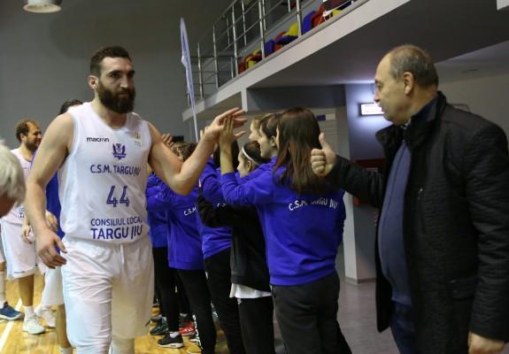 Stefan Andrejevic este din nou jucătorul lui CSM Târgu Jiu