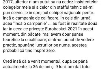 Annemarie Părău se retrage de la naționala României