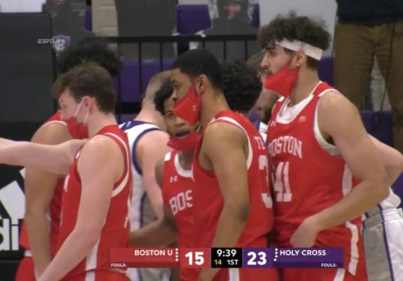Meciuri de baschet jucate cu mască în SUA. Video