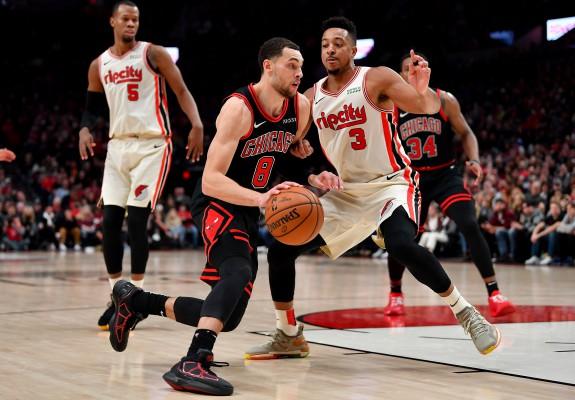 Victorie pentru Chicago Bulls în deplasarea de la Portland deși are patru jucători în carantină. Video