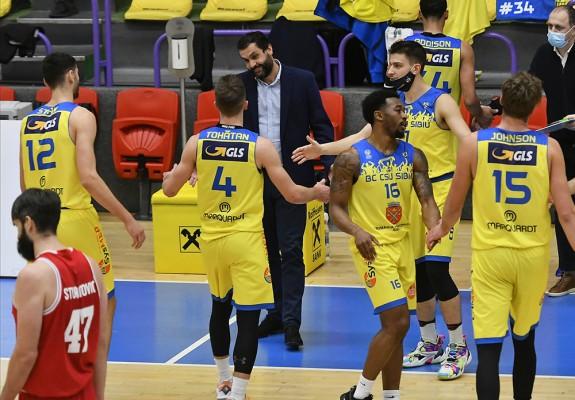 CSU Sibiu se impune categoric în meciul cu CSM Târgu Jiu