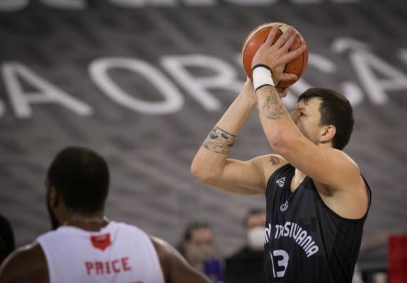 """Andrija Stipanovic, după turneul de la Cluj: """"Cred că am arătat un baschet frumos"""""""