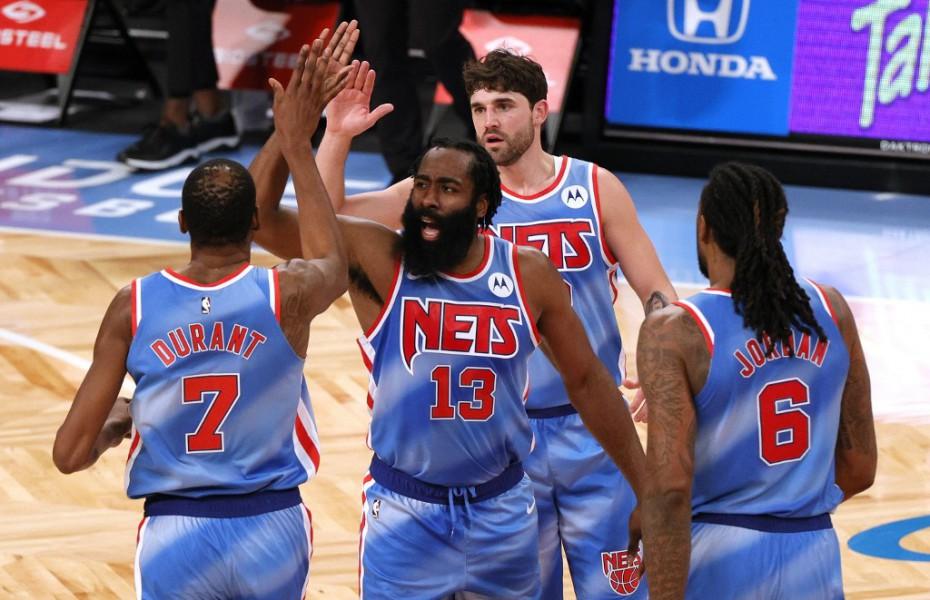 James Harden, debut cu triple-double la Brooklyn Nets