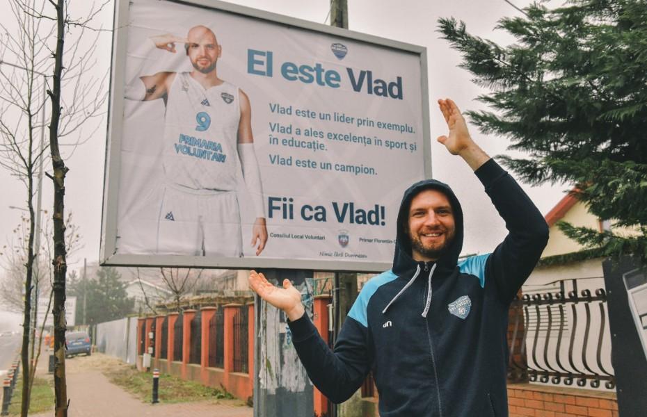 Vlad Moldoveanu și Marcu Badiu, protagoniștii unei campanii de promovare a sportului