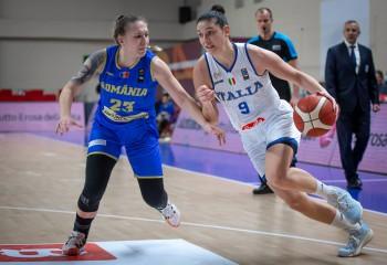 România pierde și ultima confruntare din preliminariile EuroBasket 2021