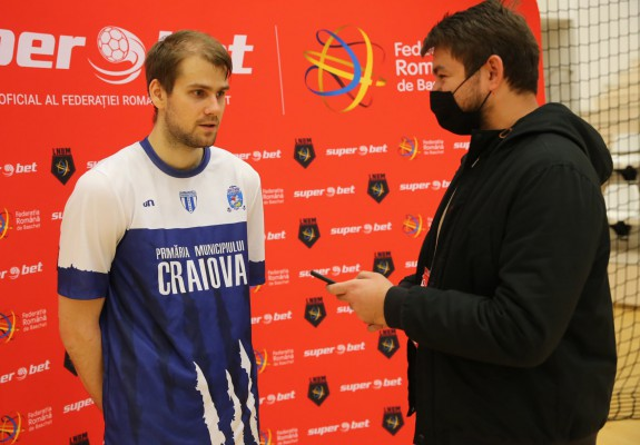 """Dragoș Diculescu: """"Indiferent de poziție, în playoff este locul unde baschetul contează cu adevărat"""""""