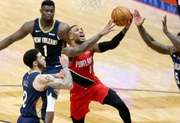 Damian Lillard, game-winner pe terenul lui New Orleans Pelicans. Video