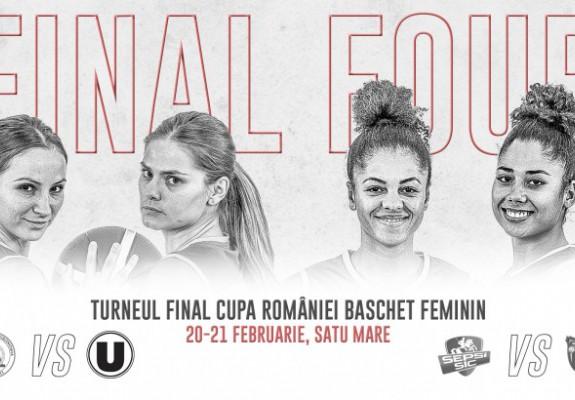 Final 4-ul Cupei României la baschet feminin, gata de start