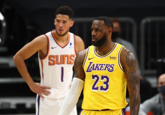 "LeBron James: ""Devin Booker nu este deloc respectat"""