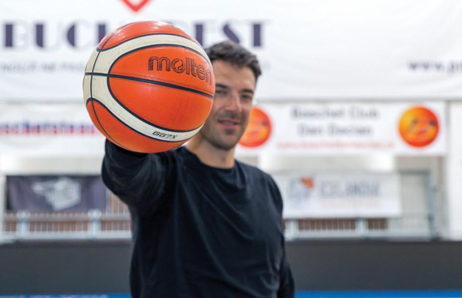 Virgil Stănescu contribuie la repornirea baschetului juvenil
