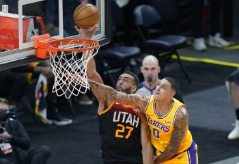 Utah Jazz, demonstrație de forță în partida cu Los Angeles Lakers