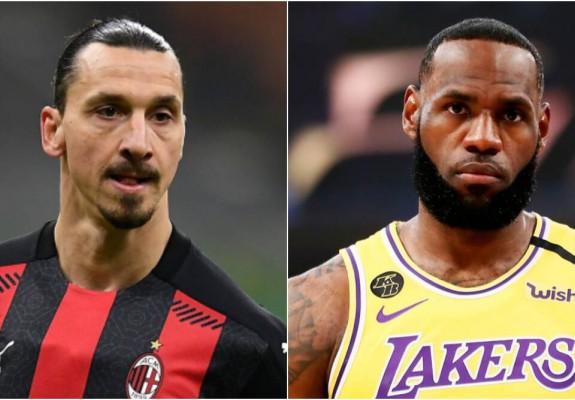 LeBron James îi răspunde lui Zlatan Ibrahimovic
