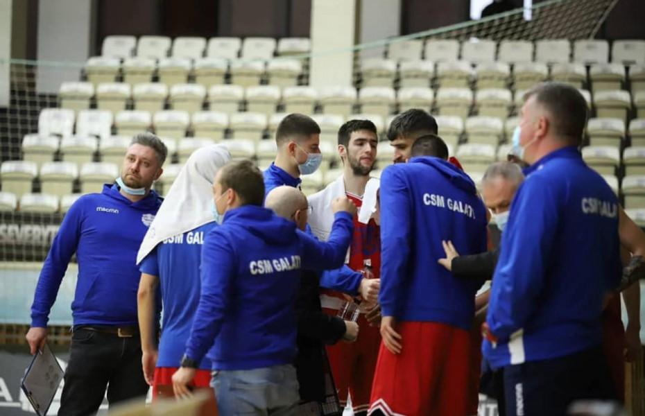 CSM Galaţi a terminat turul cu o victorie în prelungiri în faţa lui CSM Miercurea Ciuc