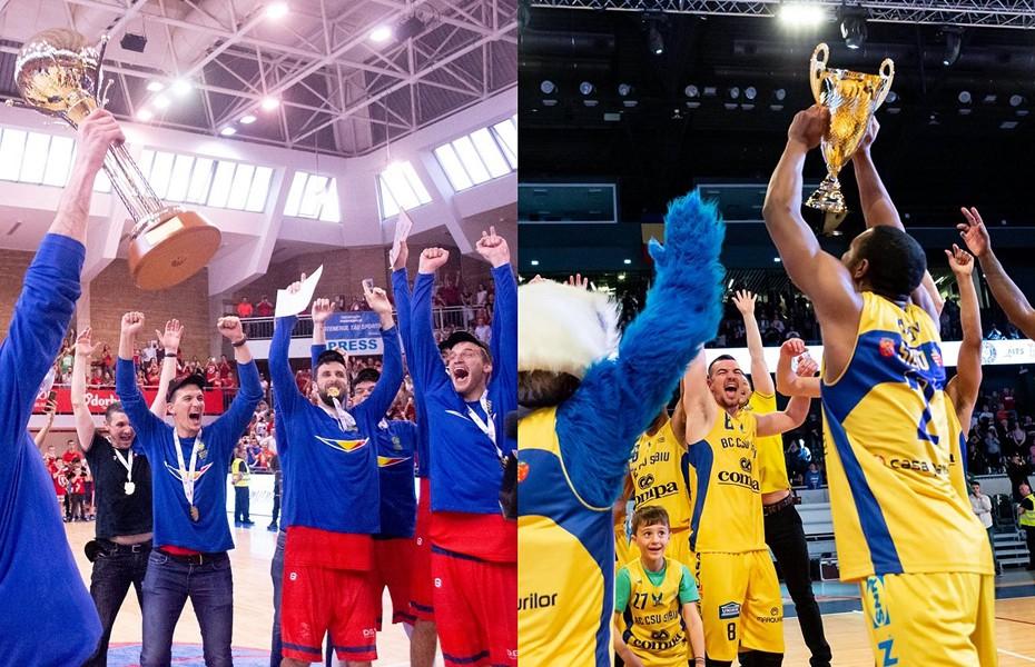 CSM CSU Oradea și BC CSU Sibiu își vor disputa SuperCupa României în 5 octombrie