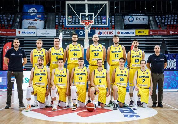 România a coborât o poziție în clasamentul mondial FIBA