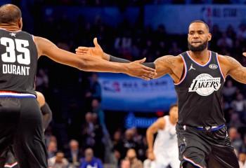LeBron James și Kevin Durant și-au ales echipele pentru All-Star Game. Video