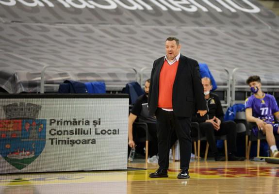 """Dragan Petricevic: """"Între noi și echipele din top 4 există destule diferențe"""""""