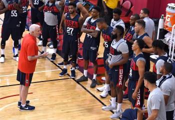 57 de jucători pe lista preliminară a Team USA pentru Olimpiada de la Tokyo
