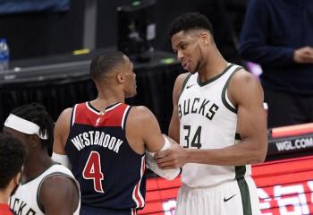 Cinci triple-double-uri într-o noapte istorică în NBA