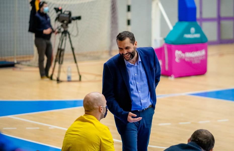"""Dan Fleșeriu: """"Vrem să ajungem cu toată echipa aptă pentru meciurile din FIBA Europe Cup"""""""