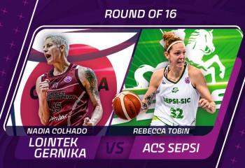 Sepsi-SIC va juca marți, 16 martie în faza optimilor din EuroCup Women
