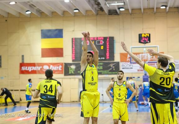 CSM 2007 Focșani câștigă disputa cu CSM Miercurea Ciuc