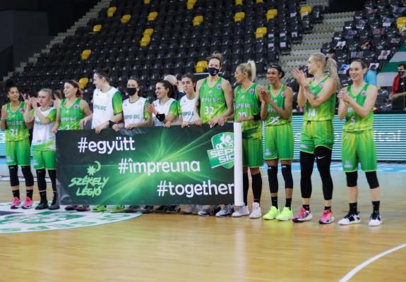 Sepsi-SIC luptă pentru calificarea în Final Four-ul EuroCup Women