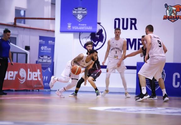 U-BT Cluj-Napoca o învinge fără drept de apel pe Athletic Constanța
