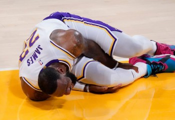 LeBron James s-a accidentat în ultimul meci al lui Los Angeles Lakers