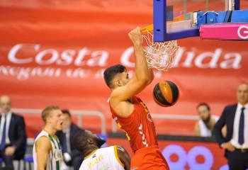 Emanuel Cățe, slam dunk devastator în partida cu Fuenlabrada. Video
