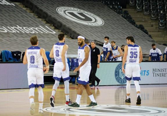 SCM U Craiova câștigă în fața lui BCM U Pitești, la capătul unui meci disputat