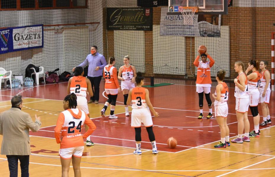 Meciurile restante din LNBF se vor disputa la București și Satu Mare