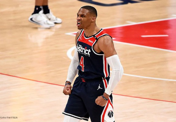 Russell Westbrook, triple-double istoric. Video