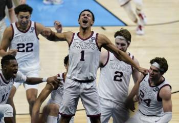 Gonzaga se califică în finala NCAA cu un buzzer beater de la mijlocul terenului. Video