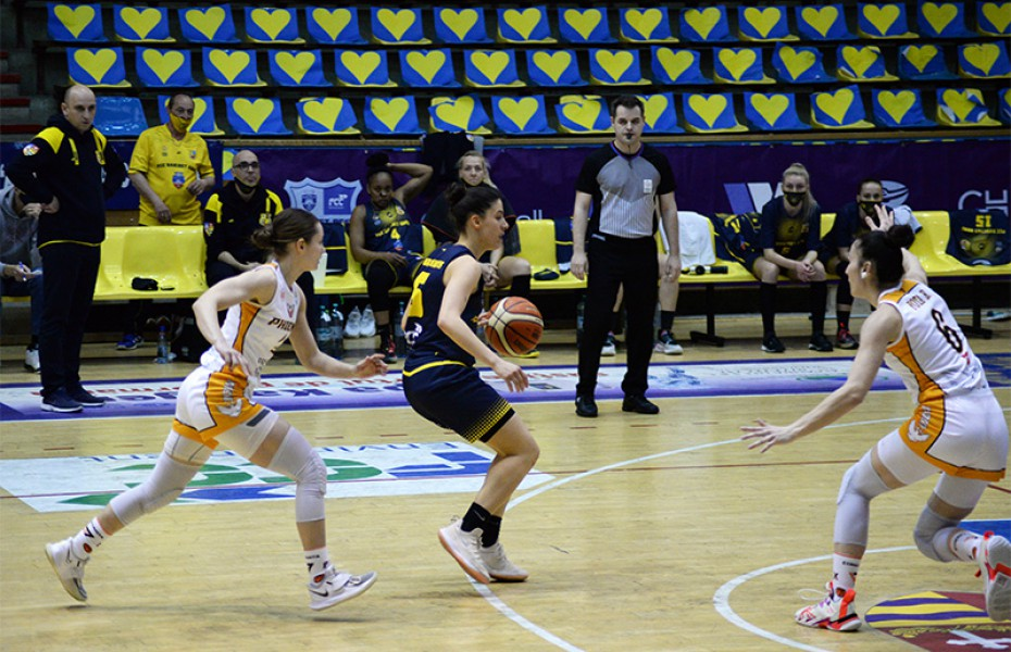 Play-off-ul din Liga Națională de baschet feminin va începe luni, 12 aprilie