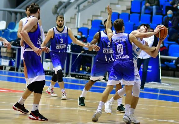 SCM U Craiova și-a conturat victoria în repriza secundă a meciului cu CSM Miercurea Ciuc