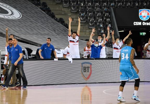 CSM CSU Oradea obține o victorie spectaculoasă în meciul cu CSO Voluntari