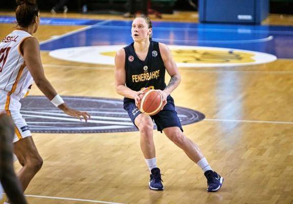Alina Iagupova, desemnată MVP-ul Euroligii feminine pentru al doilea an consecutiv