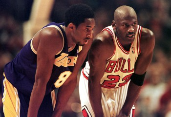 Michael Jordan îl va prezenta pe Kobe Bryant în cadrul ceremoniei Naismith Basketball Hall of Fame