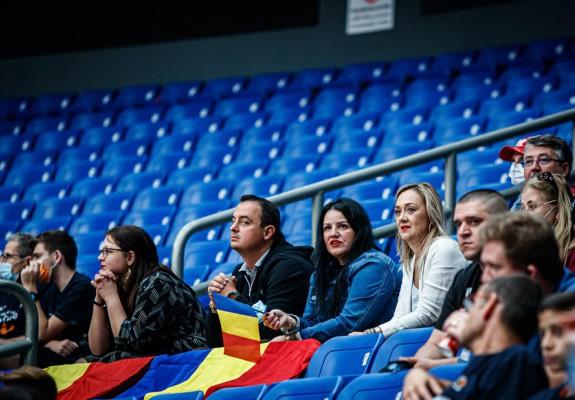 CSM CSU Oradea a jucat pentru prima oară cu fani în tribune